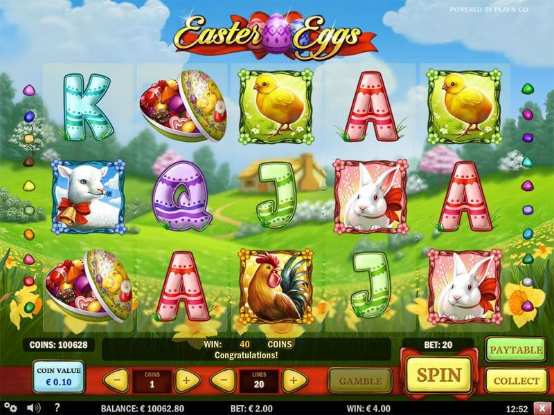 A Simple Review & Guide for the Popular Easter Eggs Online Slot Game